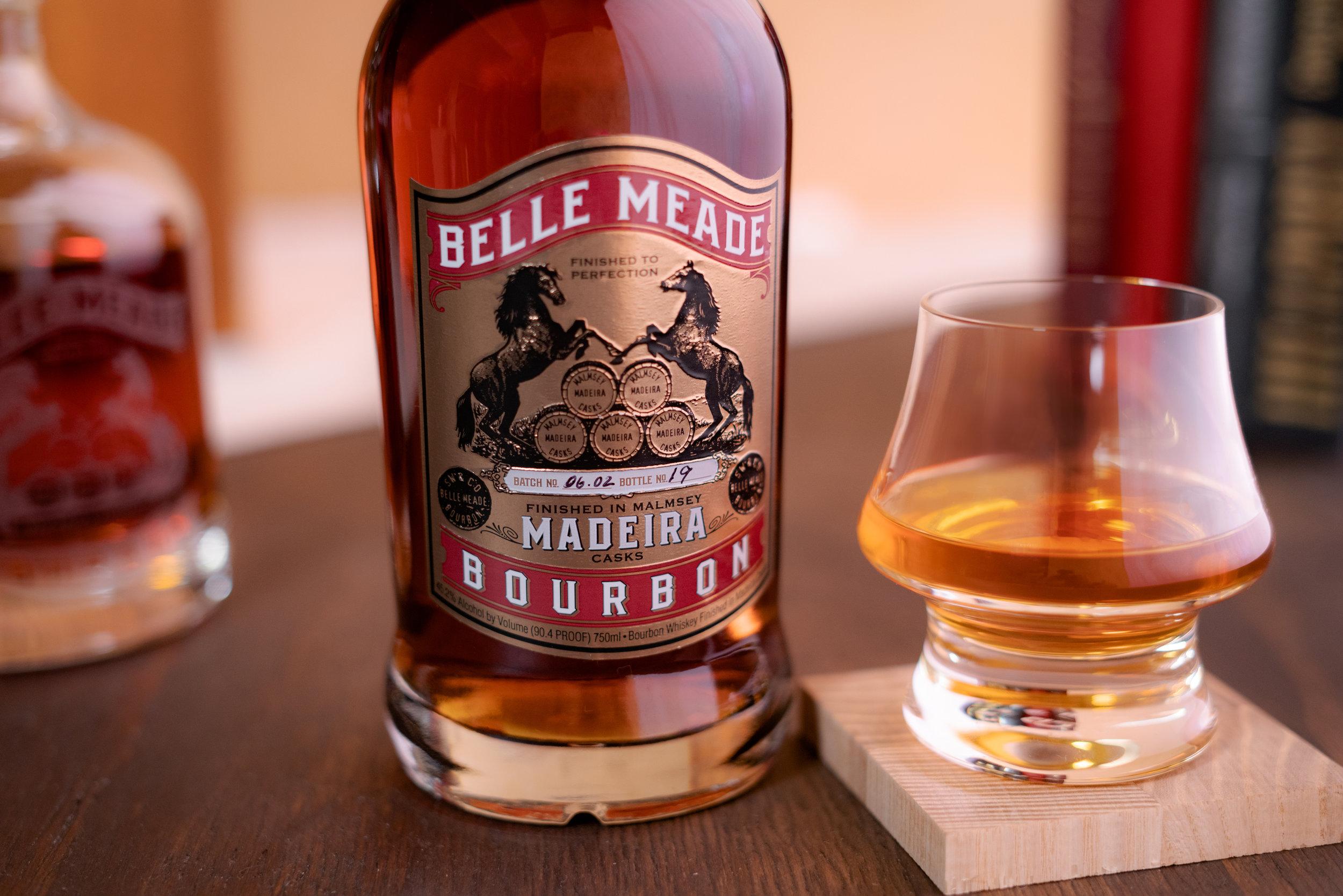 Award-winning Belle Meade Bourbon Madeira Cask Finish
