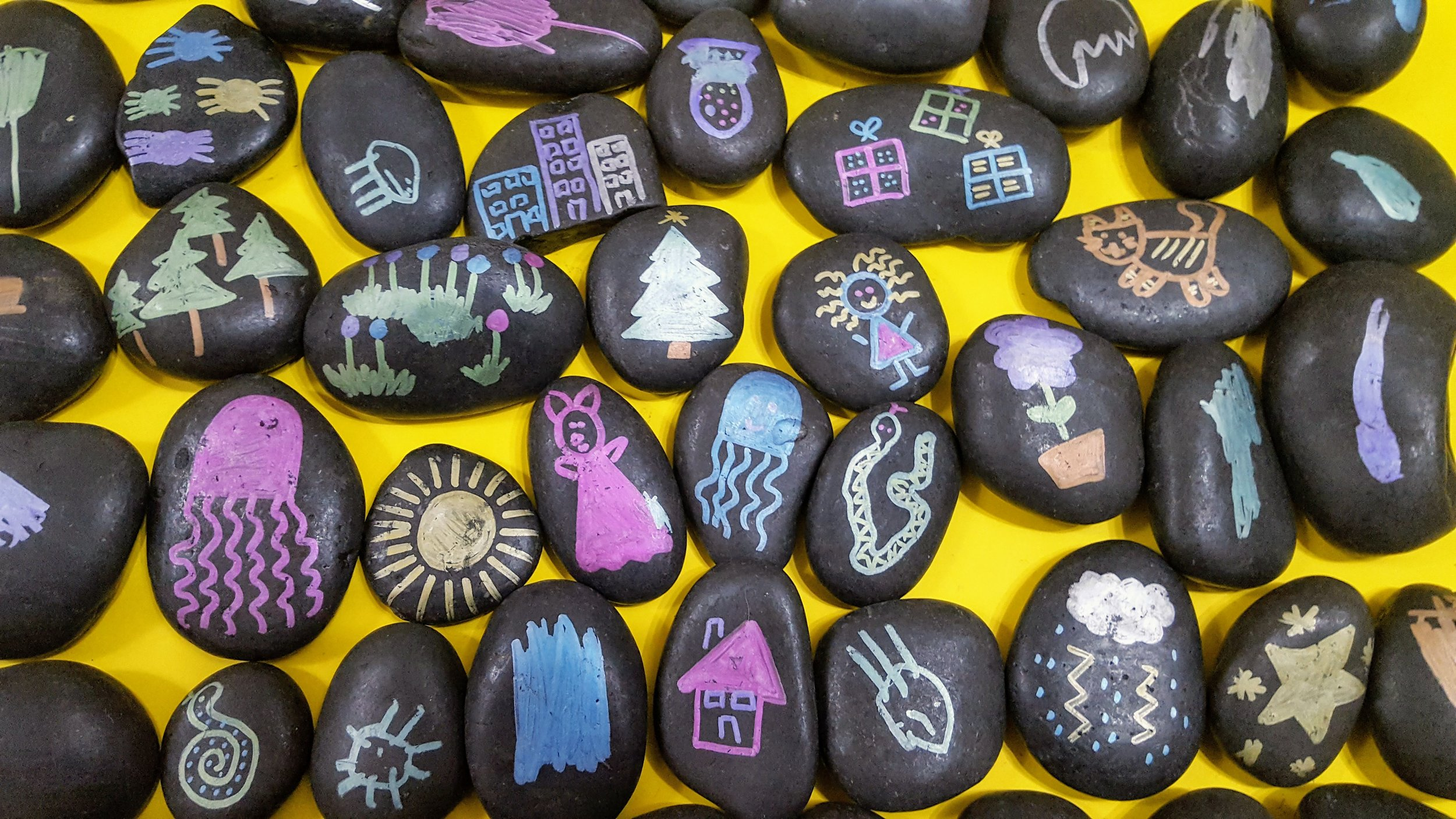 Picture of story stones
