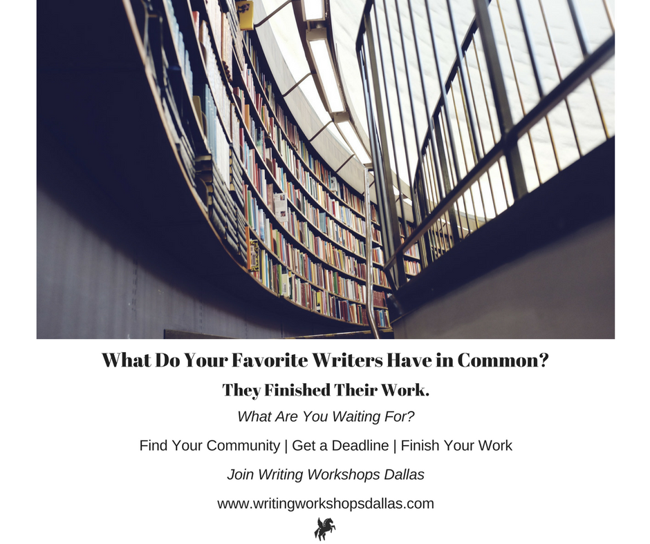 DFW Writers Workshop Writing Workshops Dallas
