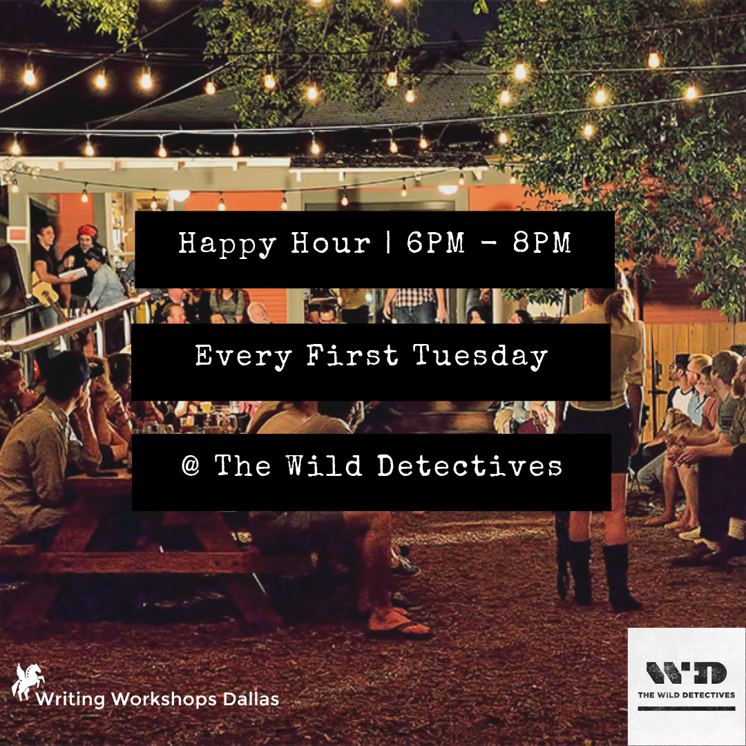 Writing Workshops Dallas Happy Hour at Wild Detectives.png