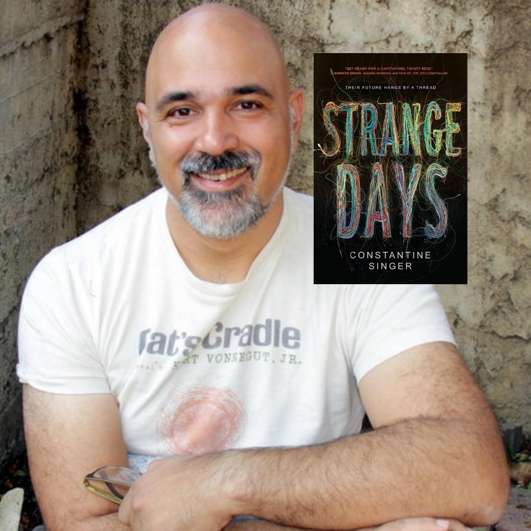 Constantine Singer Strange Days YA Novel.png