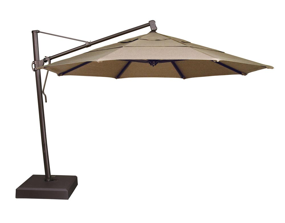 13 foot OCTAGONAL CANTILEVER (BASE INCLUDED)