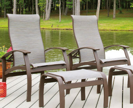 BELLE ISLE COLLECTION (ADJUSTABLE SLING CHAIR)