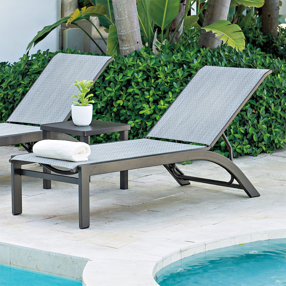 KENDALL SLING CHAISE LOUNGES