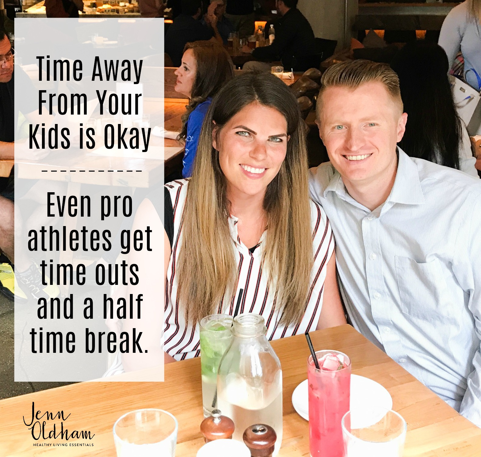 Taking time away from your kids IS OKAY.