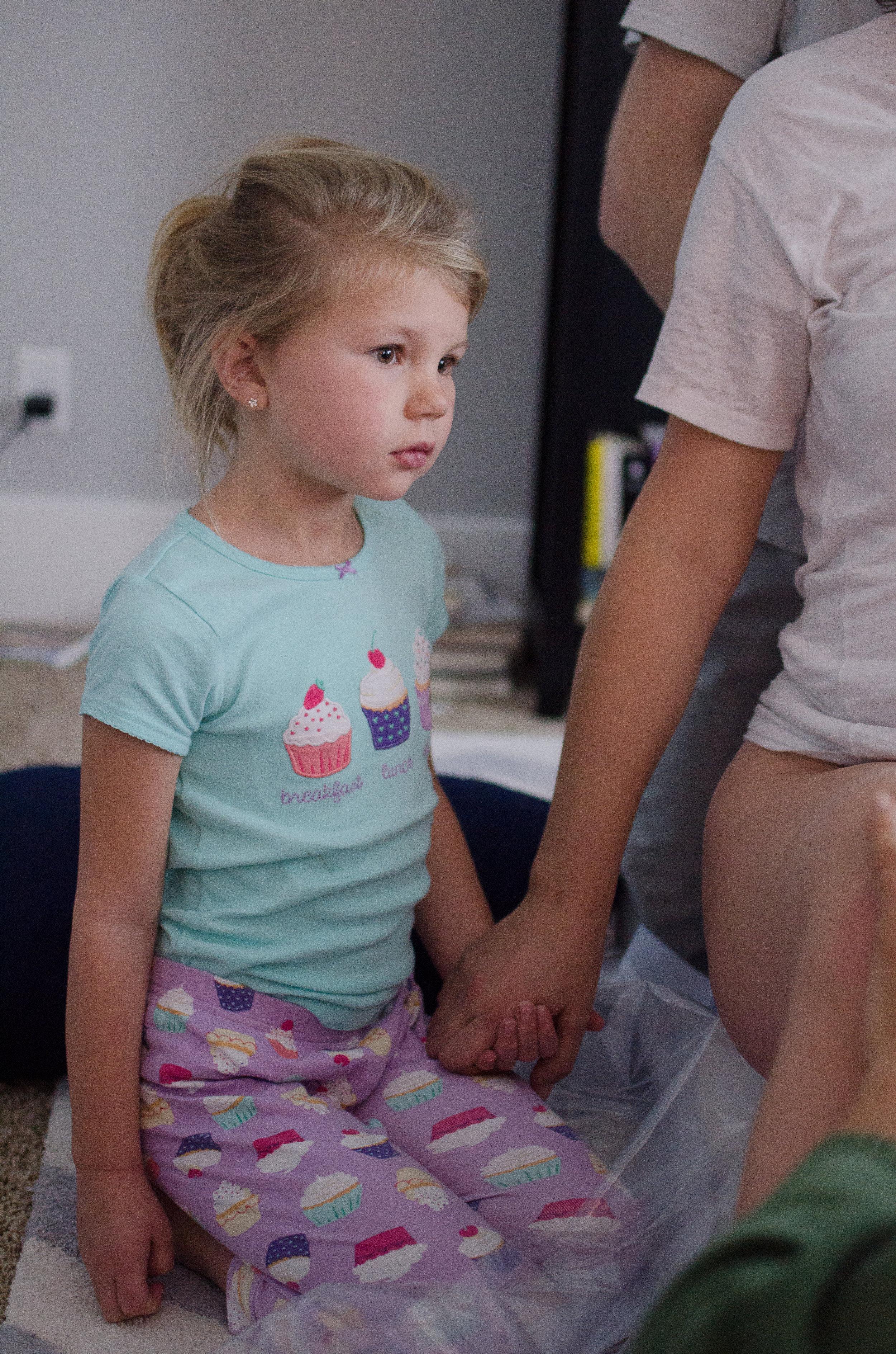 Children Watching Home Birth