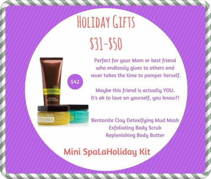 doTERRA Pampering Gifts