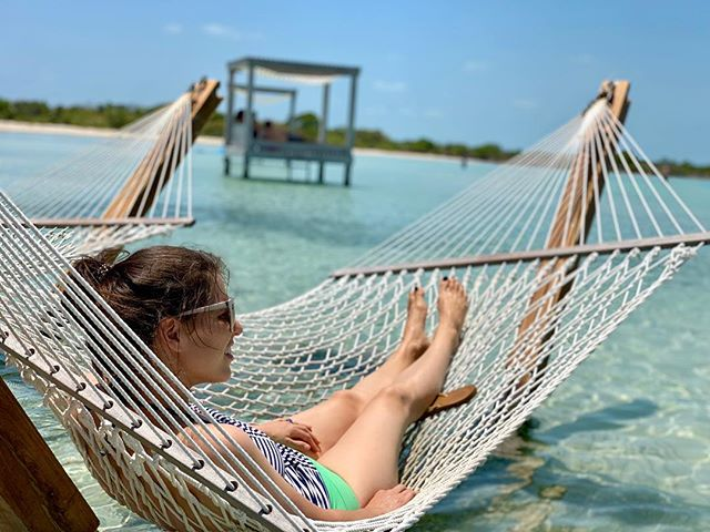 Work hard and play hard. I'm here in Belize with Richard for some much needed rest and relaxation. Have you ever been to Belize? Tell us what you love to do!