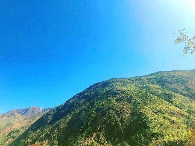 Mountain Magic 🌿🛤 #ojai #motherearth #flashback