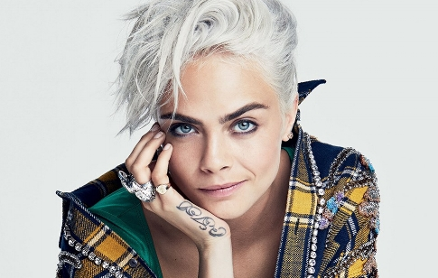 It's Cara Time (Foto: Glamour Magazine)