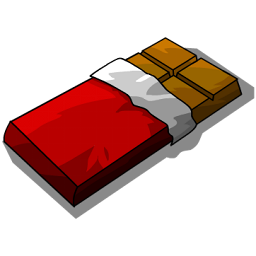 Red Chocolate Bar-256x256.png