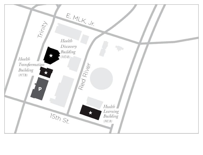 Dell Medical School Map