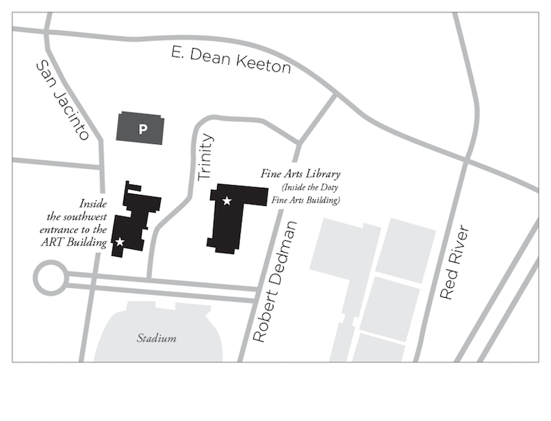 Fine Arts Library Map