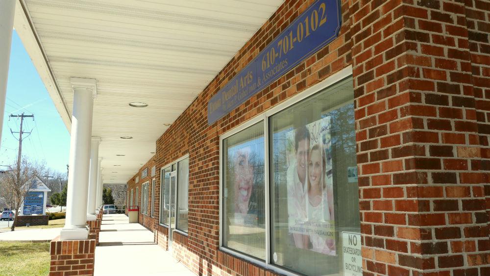 Bootway Dentals front windows