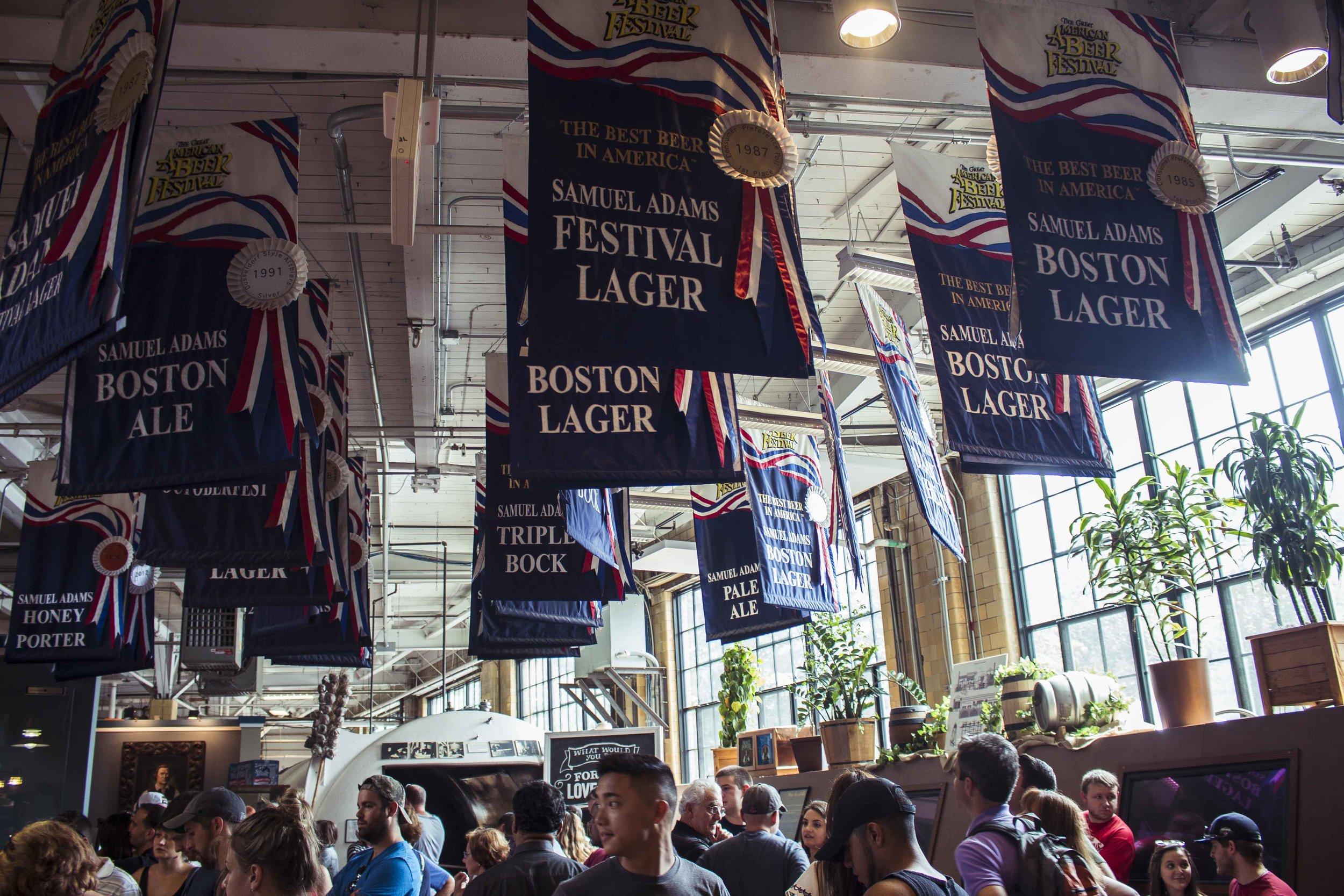 Sam Adam's Brewery, 2016