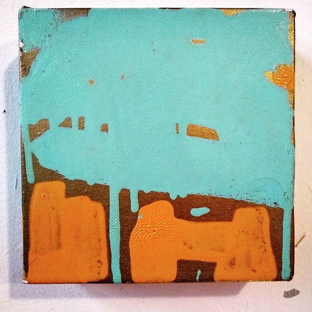 """Taos # 4, MARK ENGER 2005 4"""" X 4"""" #artfromthegrave #lategratemarkenger#twincest"""