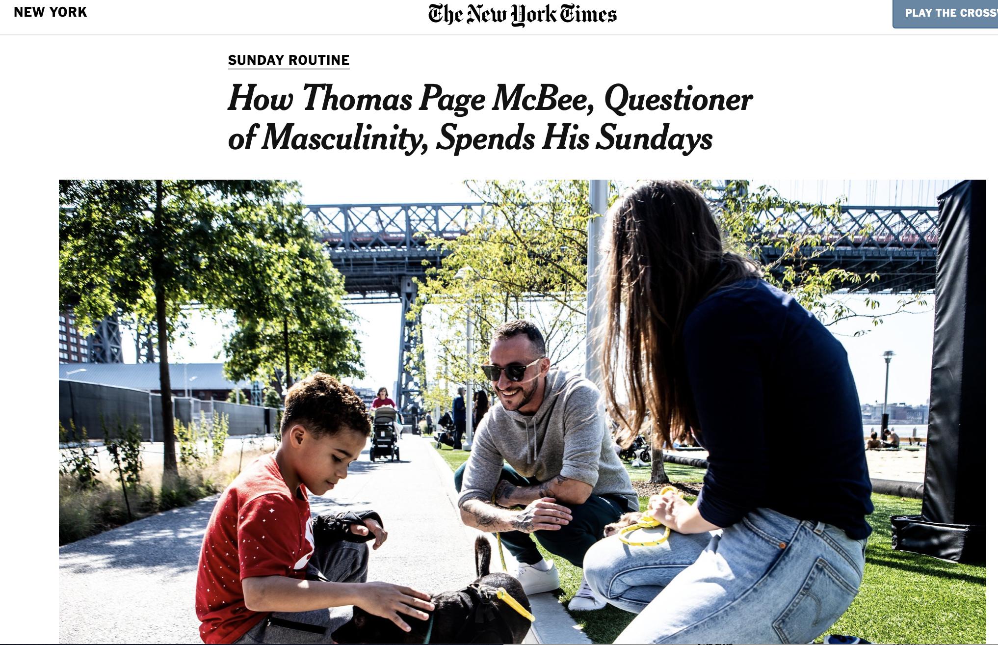 NYT's Sunday Routine