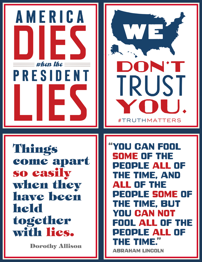 """""""Truth Matters"""" 4-Pack  Click the image to download a Microsoft Word file (600KB)"""