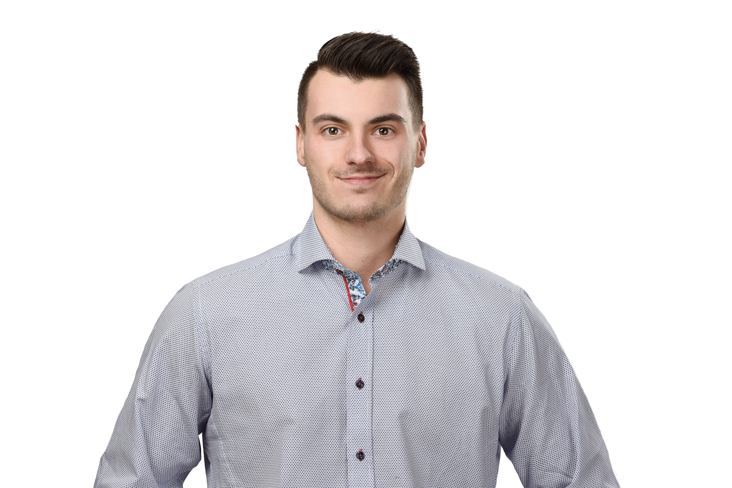 René Gaudet | Distributor Sales New Brunswick and Prince Edward Island   René graduated from CCNB with a diploma in Marketing in 2017, and is fluent in English and French. New to the Electrical Industry, René is highly motivated, eager to learn, and has great customer service skills, making him a key asset to our team.