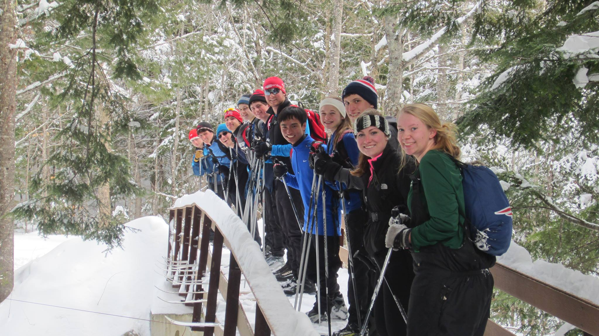 Outing Club cross country skiing