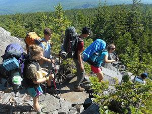 Ari hikes the Appalachian Trail