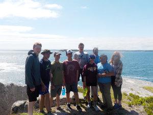 Josh paddles the Maine coastline with Chewonki's Maine Coast Kayaking Trip