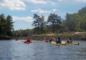 Josh with Maine Coast Kayaking Trip