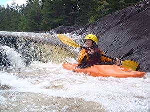 Annalisa Haas joins Chewonki Teen Wilderness Trips whitewater kayaking