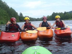 Annalisa having fun on the water!