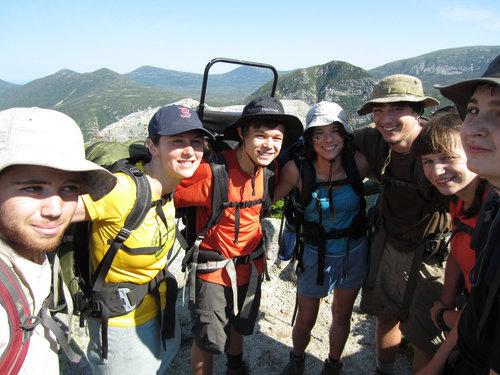 Joe Chapman hikes the Appalachian Trail with Chewonki's Teens Wilderness Trips