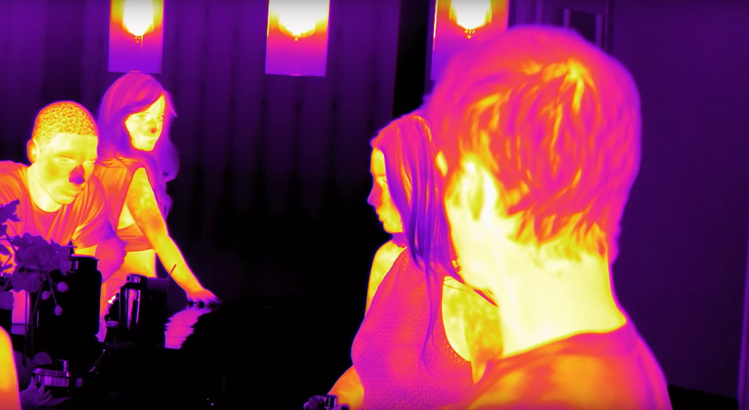Because the camera recorded temperature and not light, we needed to completely rethink the way we understood imaging. -