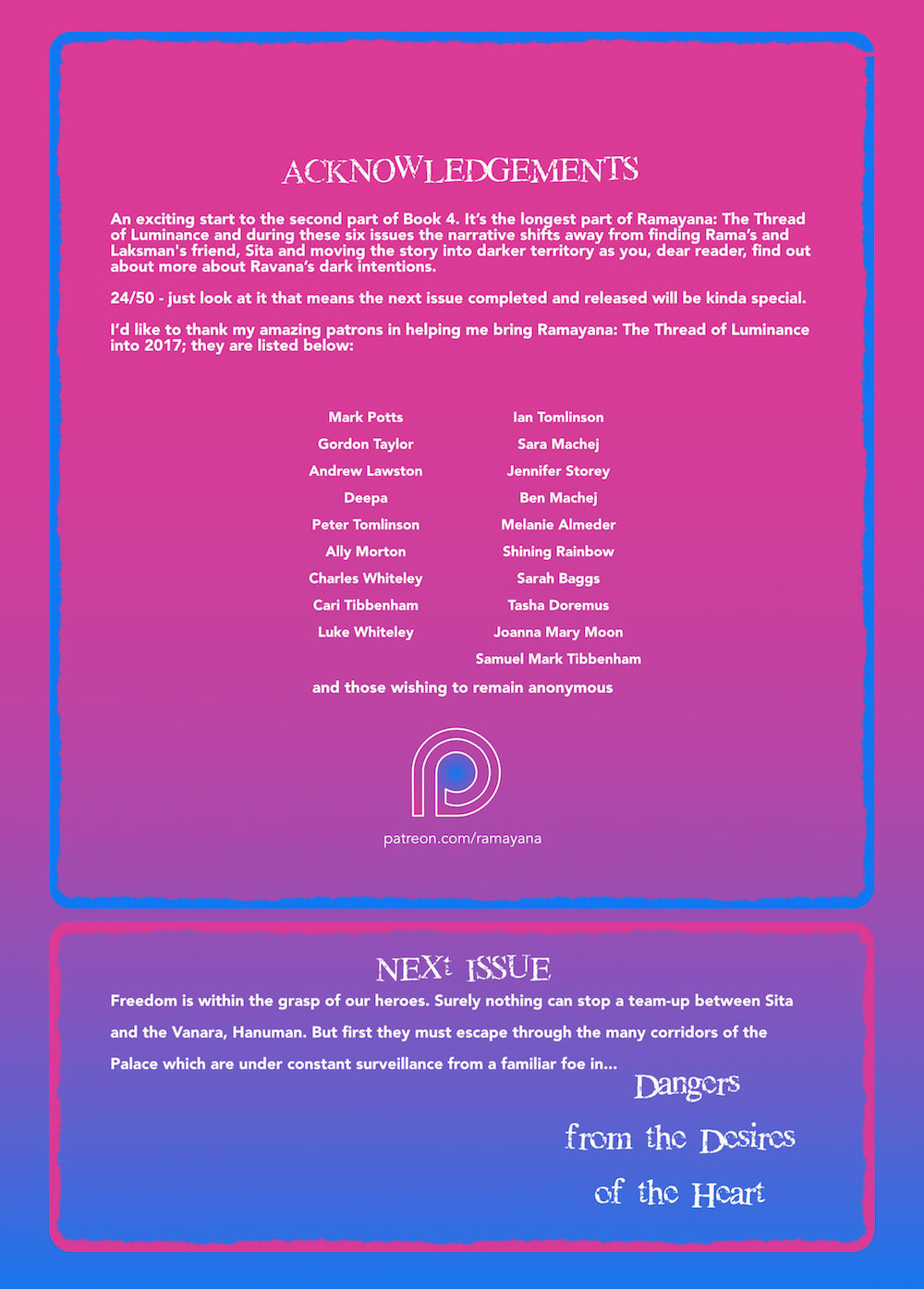 Ramayana The Thread of Luminace Beauty Part 2 Issue 1 int.back cover.png