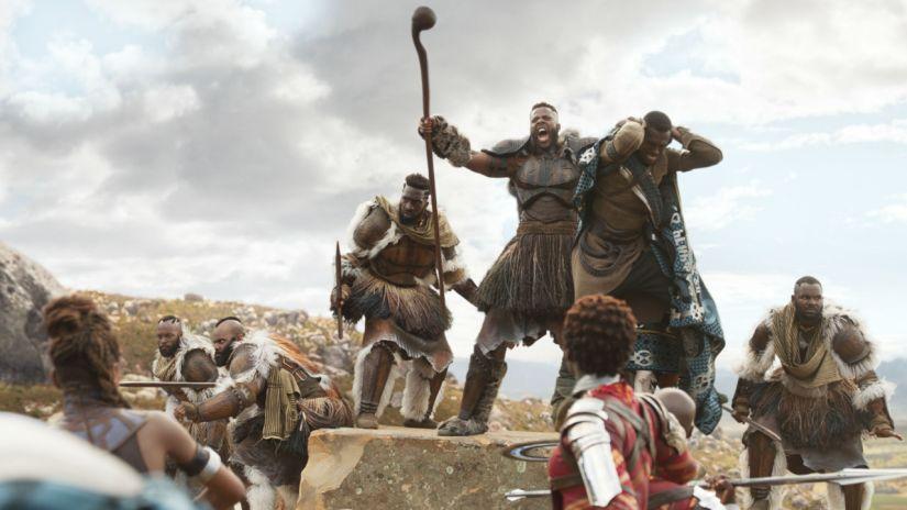 the leader of the Jubari tribe M'baku played by Winston Duke