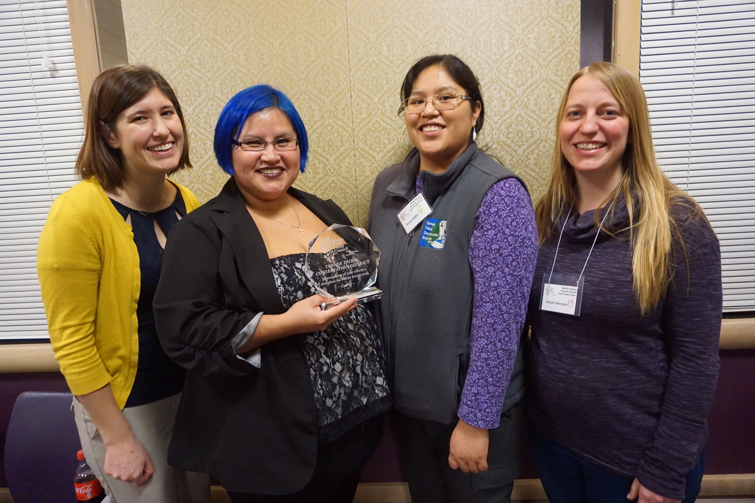 Last year, the first Alaska Food Hero recipient went to Kyra Wagner of Honer, Tyonek Tribal Conservation District, and Diane Peck of Anchorage.