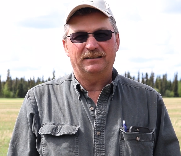 Farmers discuss risks of farming in Alaska and need for crop insurance. -