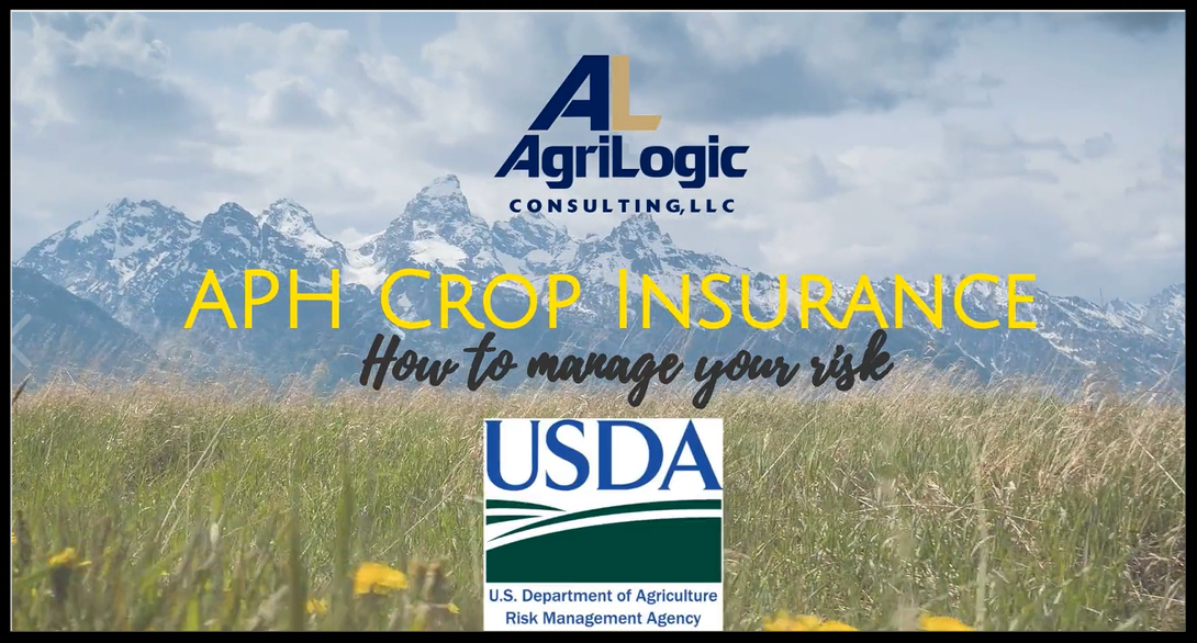 APH Crop Insurance in Alaska -