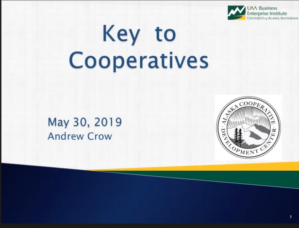 AK Ag Risk Series 3: Key to Cooperatives -