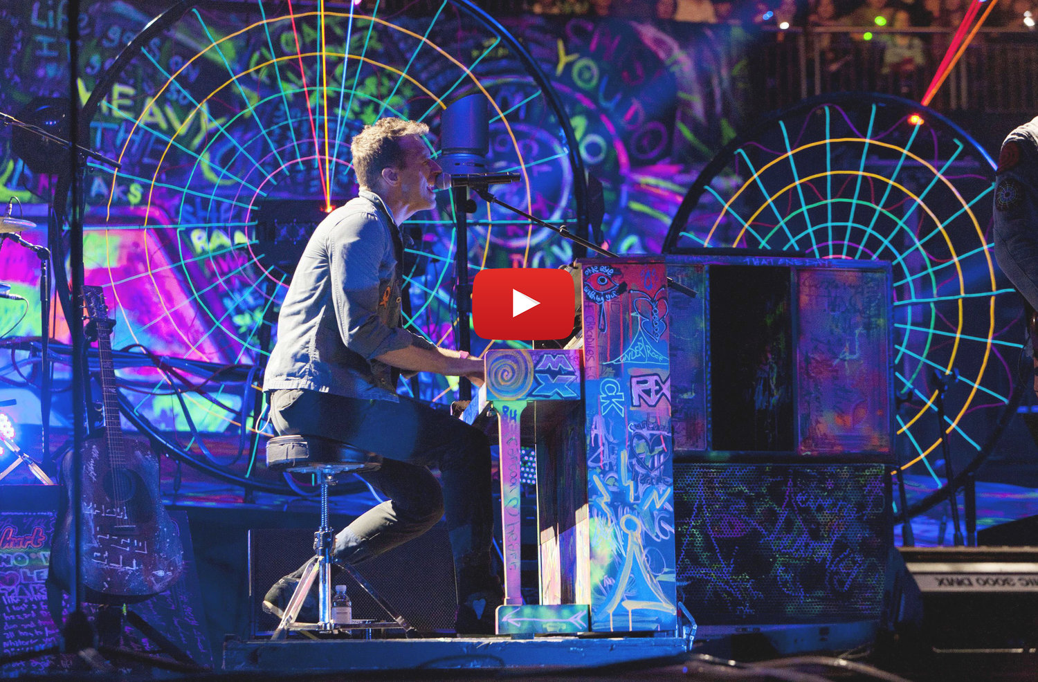 YouTube Coldplay Experience