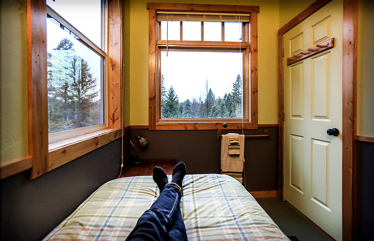 Twin Bed, Stag Room