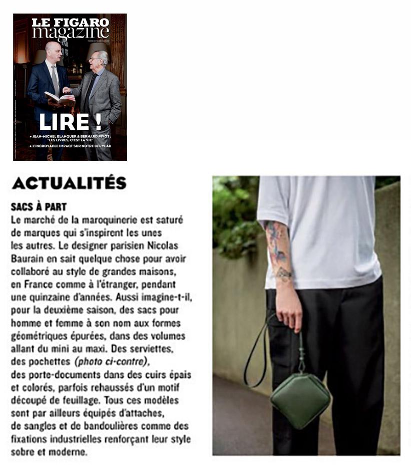 BAURAIN - Le Figaro Magazine March 2018