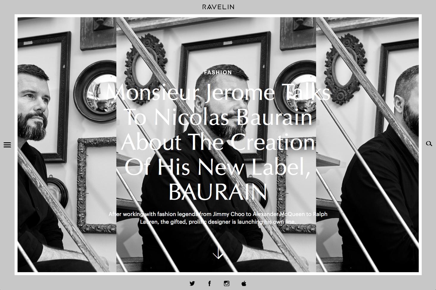 BAURAIN - Raveline Magazine May 2017