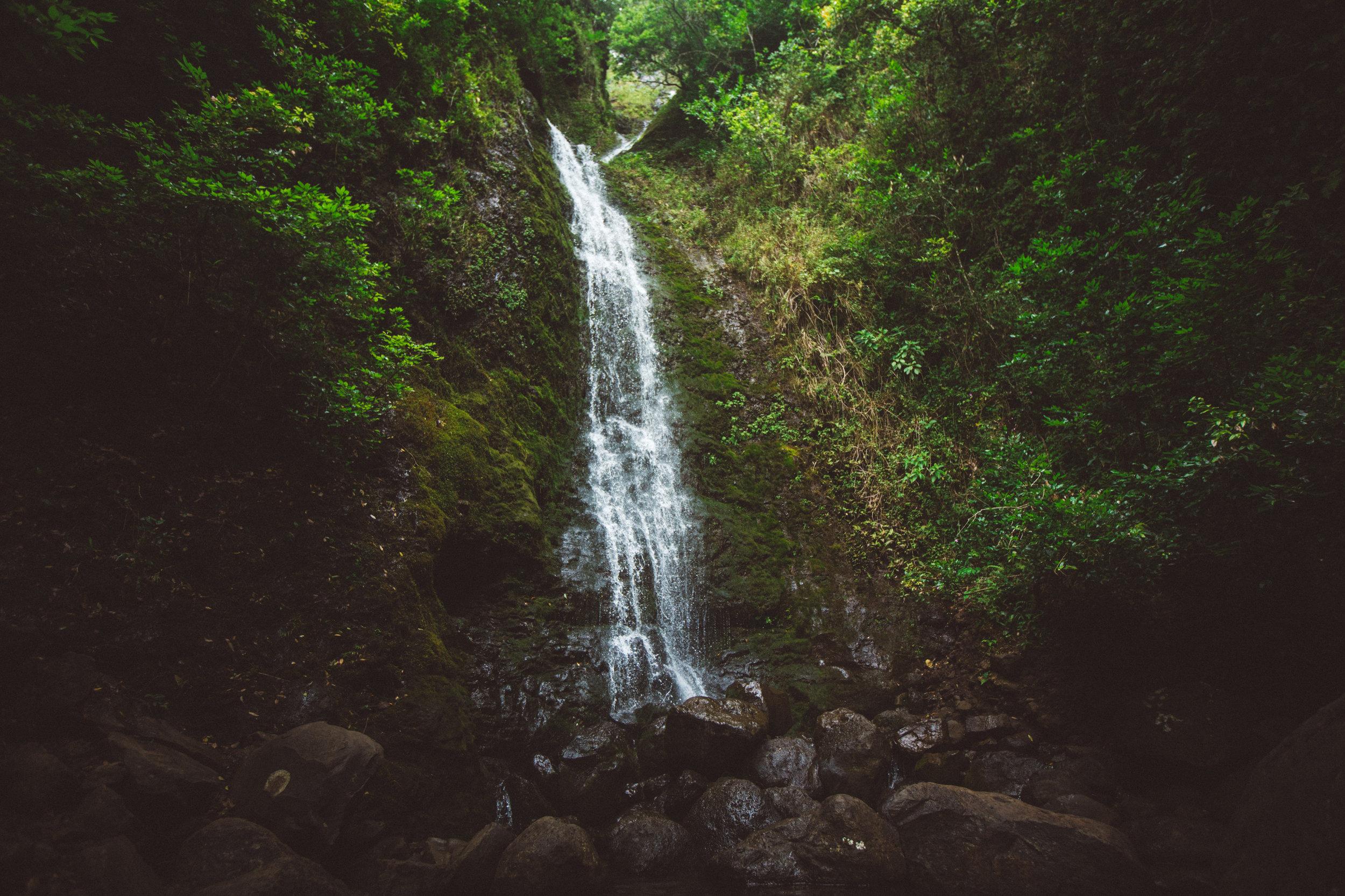 Oahu, Hawaii Waterfall