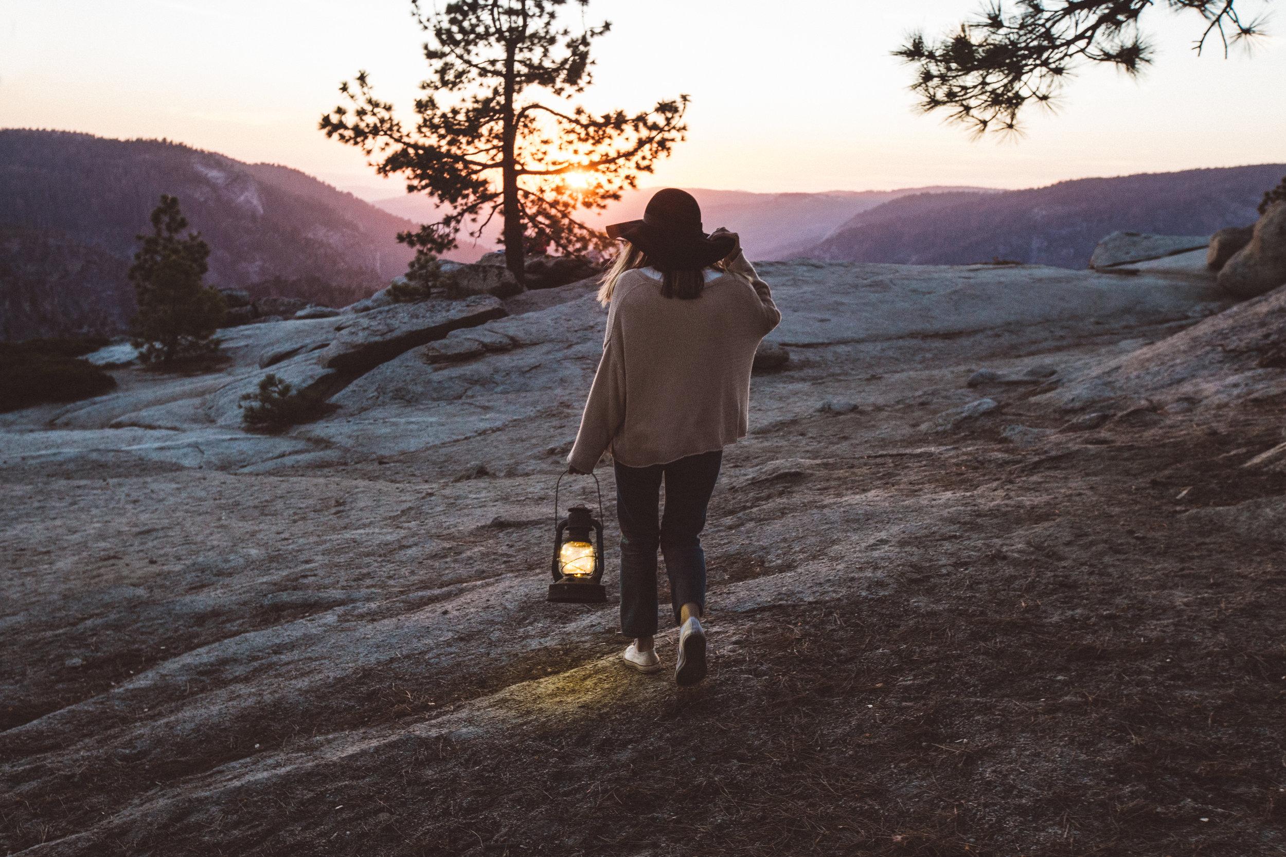 Kristin Sunset Lantern