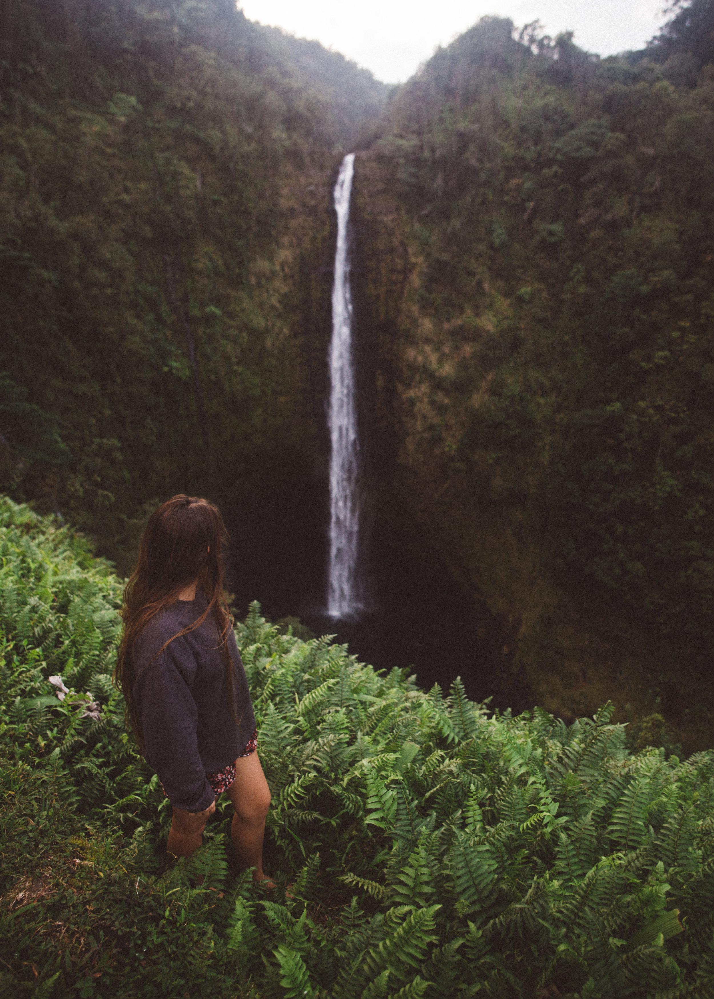 Big Island Waterfall
