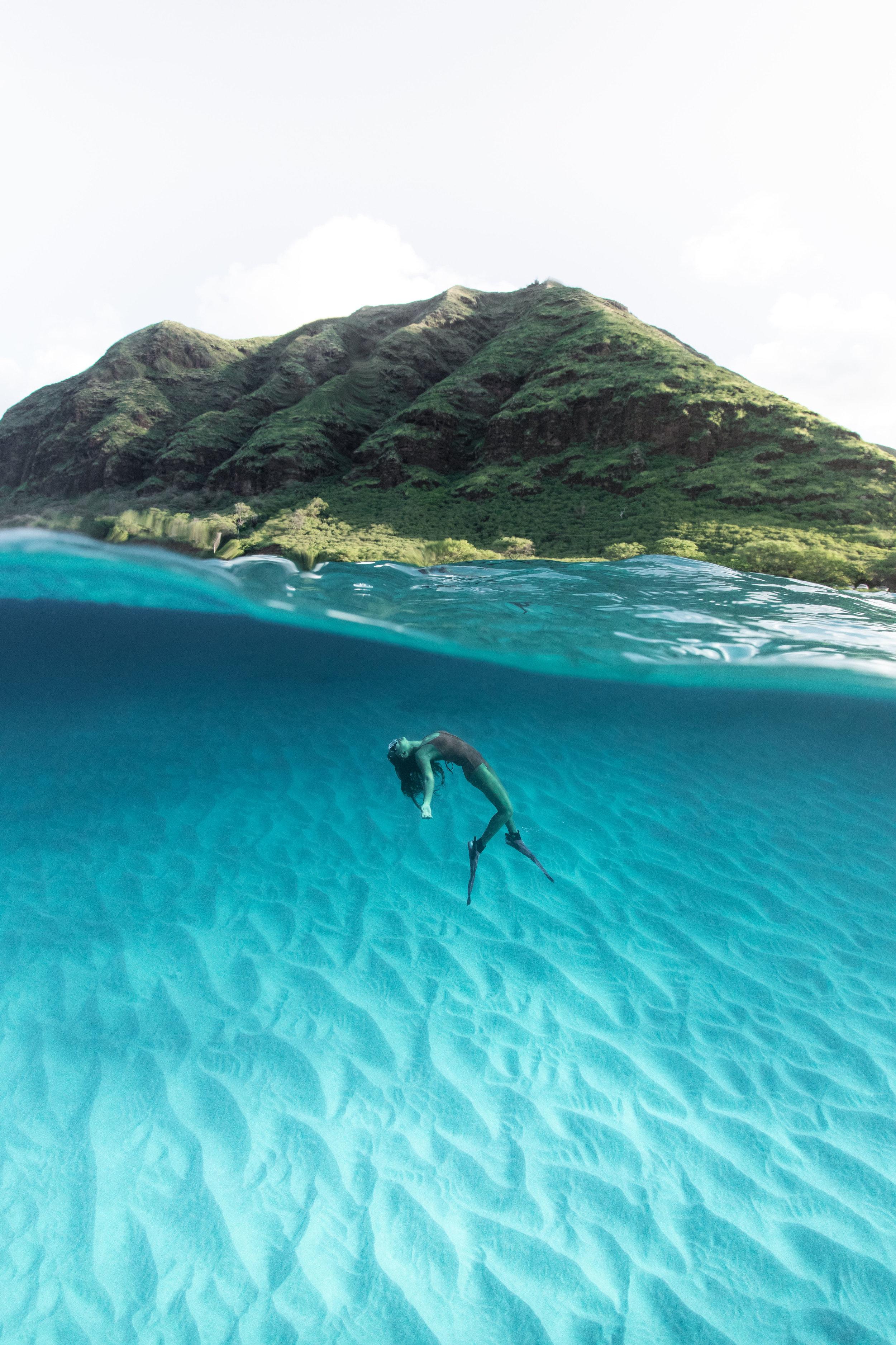 Over/Underwater Primary Tia