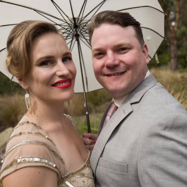 Lovely Night is the collaboration of husband and wife team James and Gelsey Sherrill.  -