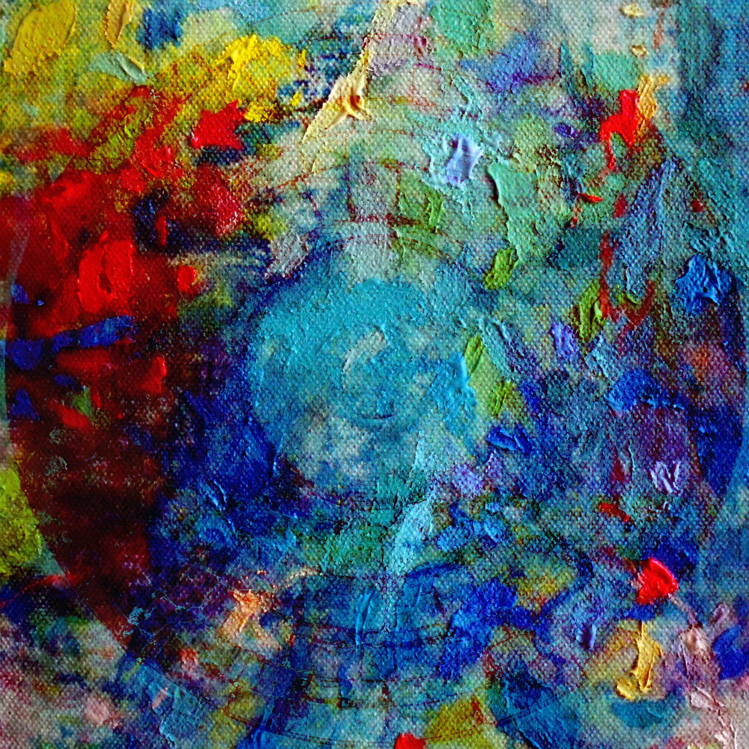 Monet's Water Lilies. Digital. 2019.