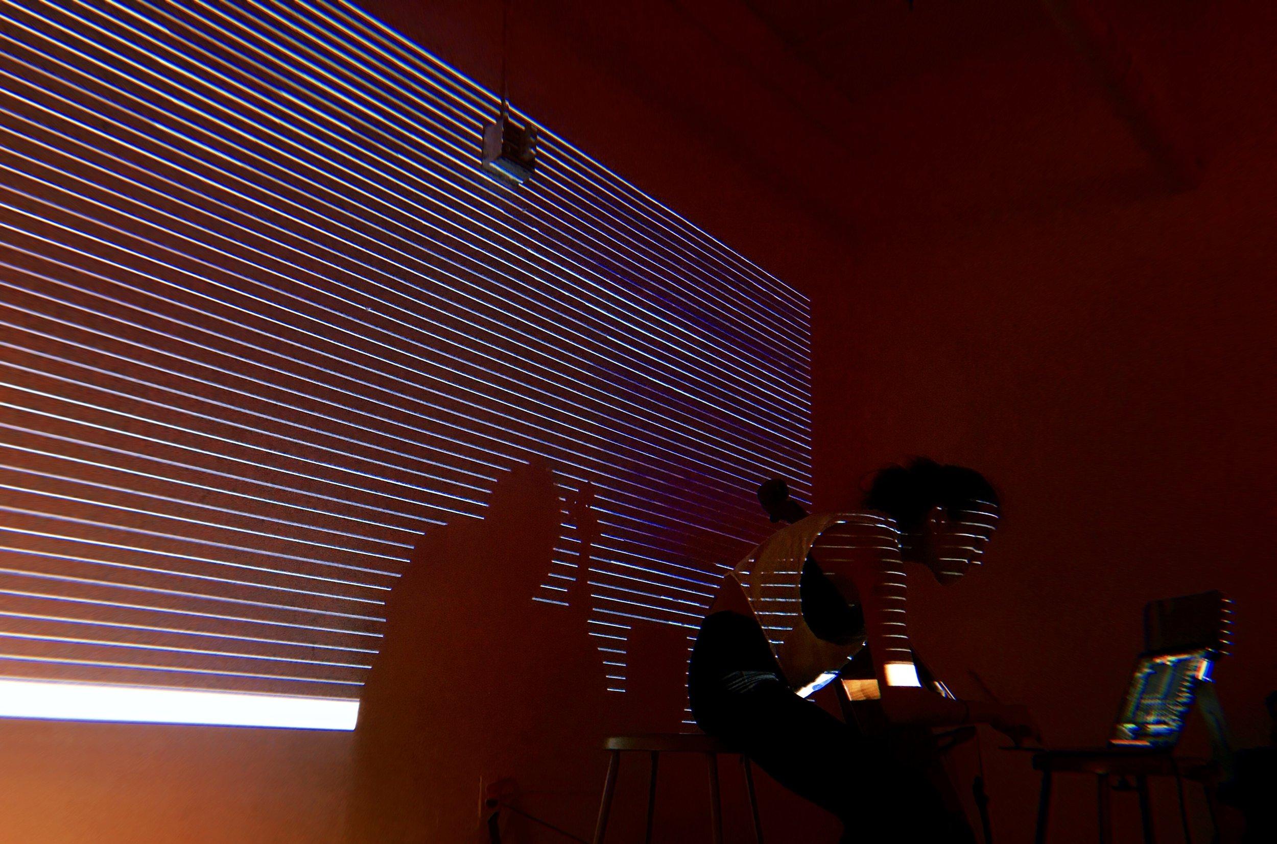 Jitter + cello improvisation + Ableton. 2018. Parsons School of Design.