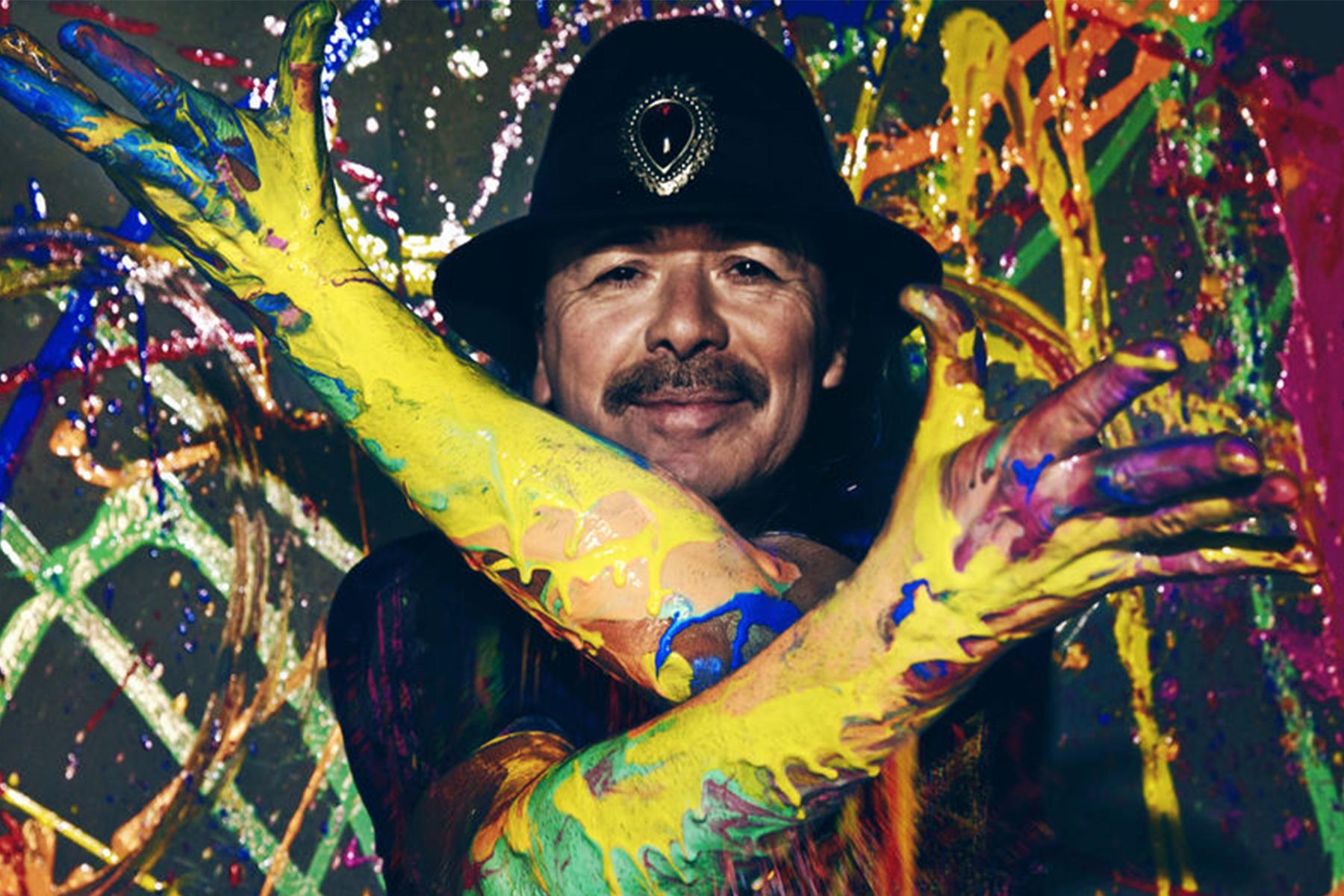 Hire Carlos Santana