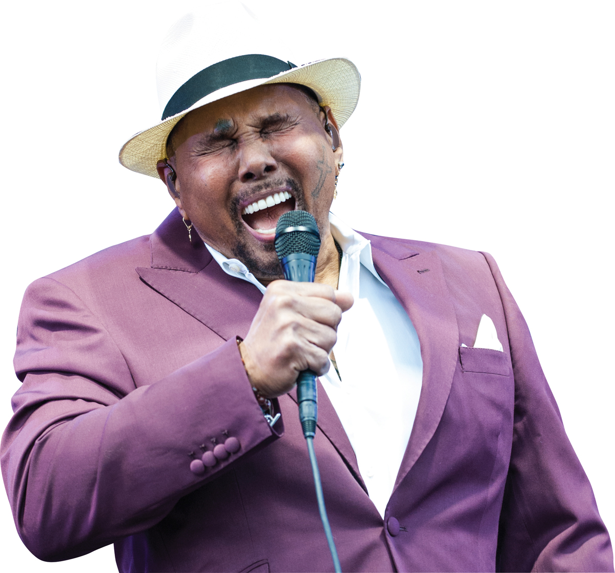 Get Aaron Neville for Events